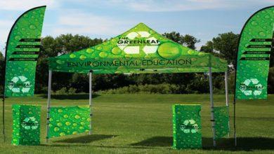 Carpa personalizada Displays Fly banners