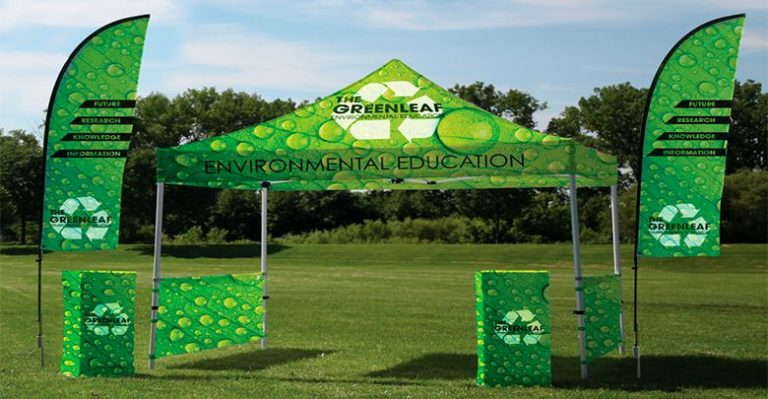 Carpa personalizada Displays Fly banners