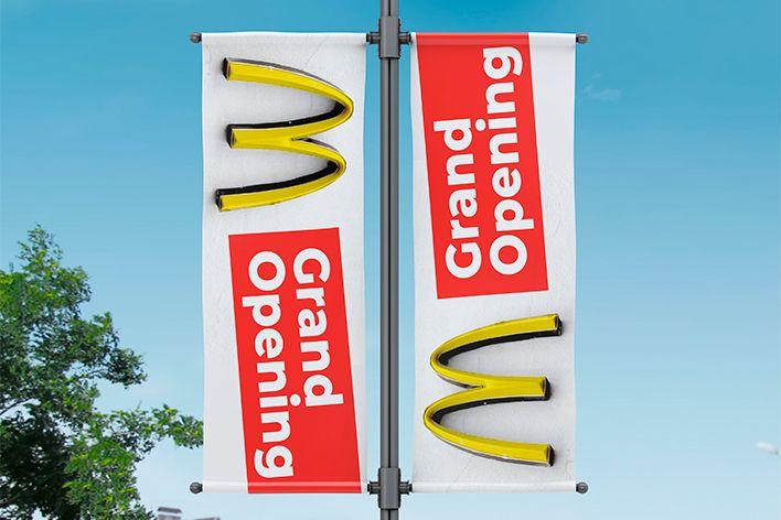 Comprar lonas impresas Fly banners personalizados