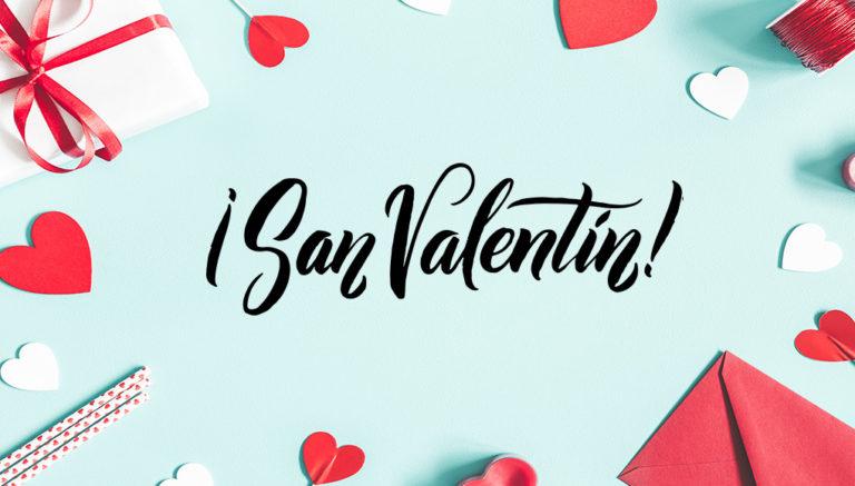 Especial productos impresos San Valentín