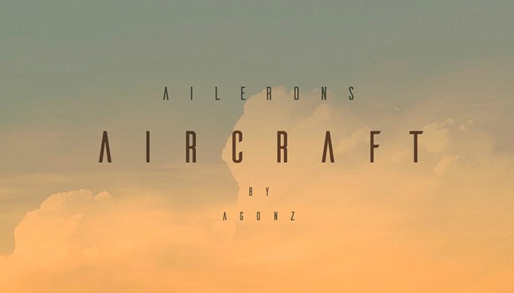 tipografía ailerons