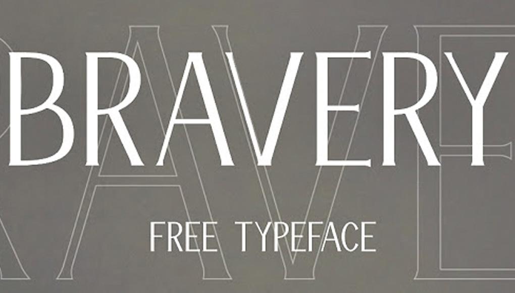 tipografías bravery